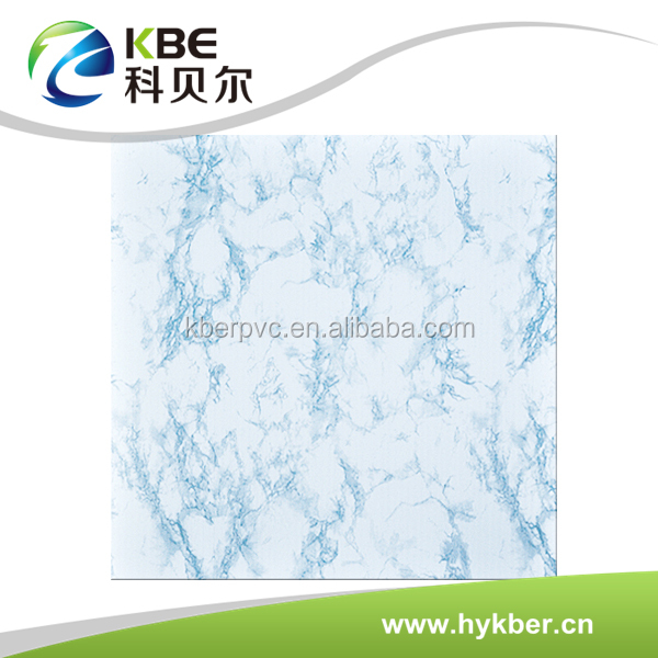 New design stone grain marbling pvc ceiling panel