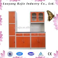 Plastic plastic kitchen cabinet kitchen cabinet cad drawings steel kitchen cabinet made in China