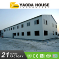 Yaoda factory supply turnkey project 2 floor prefab house for worker accommodation