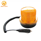Amber Waterproof Vehicle LED Beacon Strobe Warning Lights DC 12V
