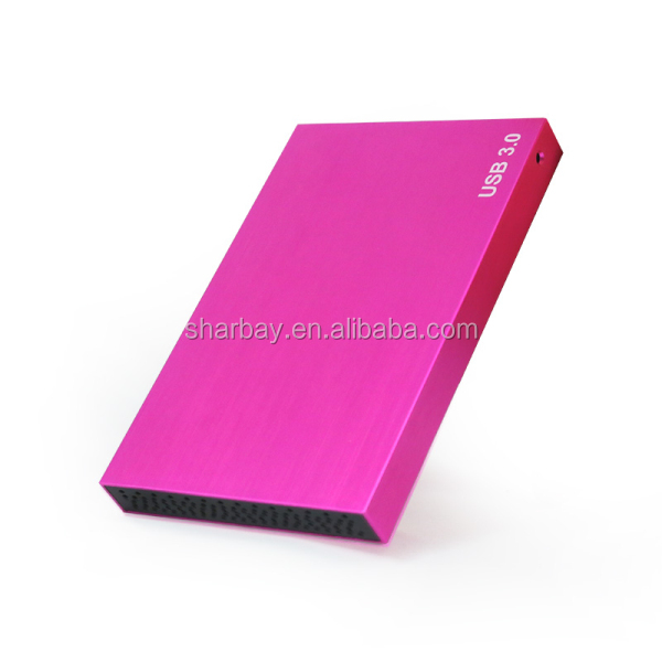 "High Quality Aluminum usb3.0 internal 2.5"" sata hdd enclosure"