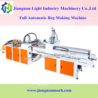 Compuer control automatic t-shirt plastic shopping carry bag making machine price
