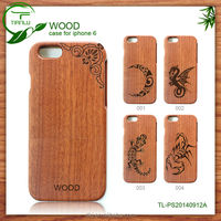 Mohogany and Maple Wood Mobile Phone Case For Iphone5 with Apple Logo Hole