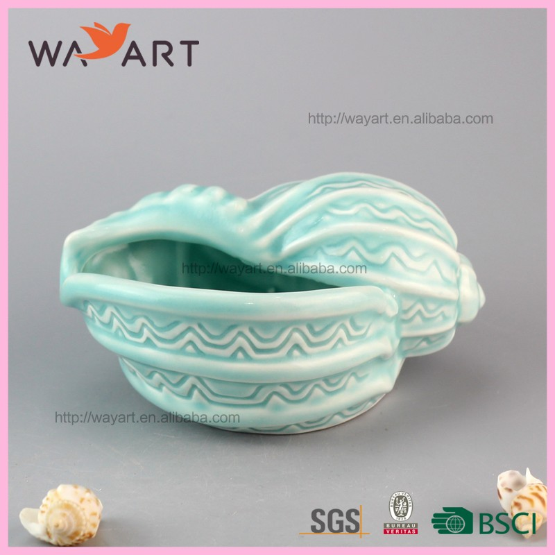 Trade Assurance Promotional ceramic flower pots wholesale