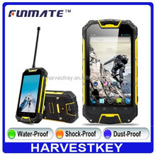 4.5 inch MTK6589 mobile phone M9 3G waterproof walkie talkie smartphone PTT gps G-sensor