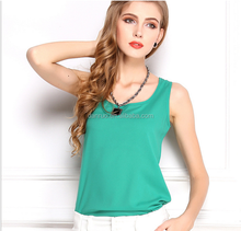 high quality ladies summer chiffon T-shirt