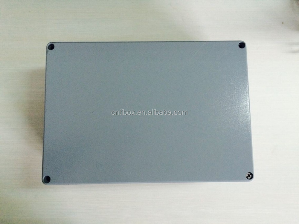 TIBOX Factory Price Metal Box IP66 Waterproof Junction Box Project Aluminum Electronic Enclosures