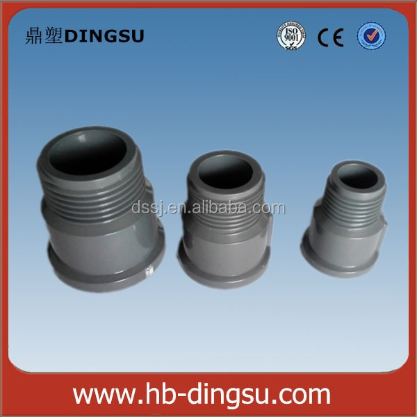Nigeria Plastic PVC Male Threaded Adapter Connection Pipe Fitting