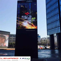 LED Video display / P6 rotating advertising led screen
