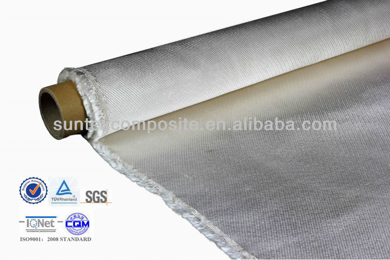 1700 degree high silica fireproof fibreglass material incombustible