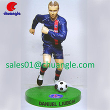 3d Custom Action Figure, Realistic PVC Soccer Player Action Figures Doll for Collection