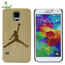 Best price real wood phone case / for wood Samsung Galaxy S5 cover / bamboo bumper case