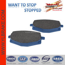 middle and top grade disc brake pad for YAMAHA-TZR 50
