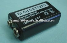 8.4V 120mAh Ni-CD Button cell battery 120H 120K7D