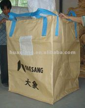 pp big bags for pellet,pp jumbo bag with 2 stevedore straps 02