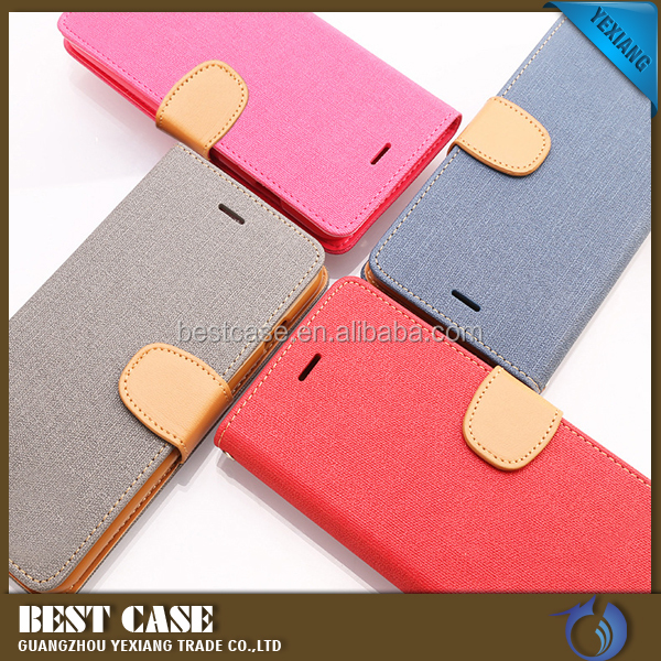 Hot new products Korea flip leather case fashion back cover for iPhone 5