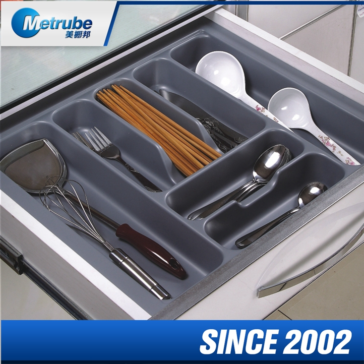 Exceptional Custom Plastic Insert Kitchen Fitting Cutlery Serving Tray