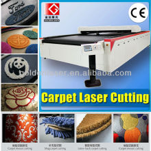 Automotive Mat Laser Cutting Machinery for Car Carpet