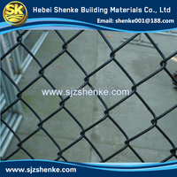 galvanized coated chain link fence .diamond wire mesh fence