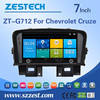 7 inch Screen Size Car Navigation Entertainment System auto parts for chevrolet cruze