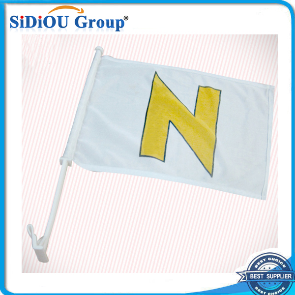 Durable Race Car Window Flags with Cheap Price Custom Design