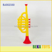 2014 new toy for kids China promotion gift cheap plastic model trumpet