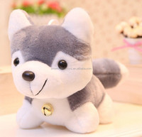 lovely dog toys husky custom soft plush toy animal