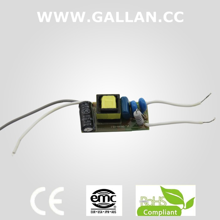 Power supplier diode 3W 5W 7W China 12v 60w led power supply
