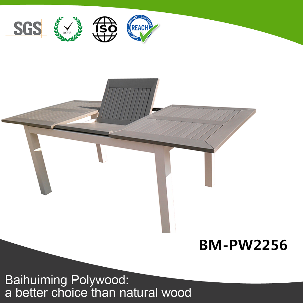 European Style man-made plastic wood folding table BM-PW2256