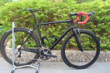 T800 Toray Full carbon fiber complete road bike,high end carbon bike frame