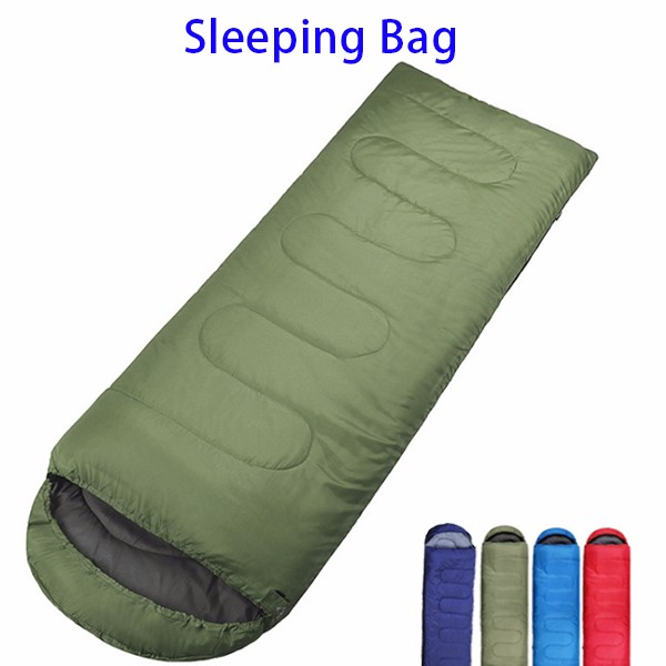 100% Hollow Cotton Double Zippers Adult Camping Sleeping Sack Bag with Compression Bag