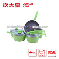 Kitchen Item/ Forged aluminum non stick cookware Set
