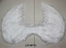 white decortive feather angel wings LZYJMT12
