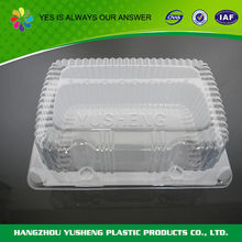 Non-slip disposable plastic PET material food packaging box