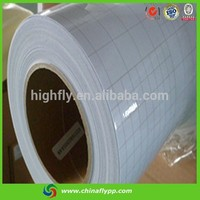 Hot special size FLY glossy cold lamination film soft factory pvc cold lamination film protecting