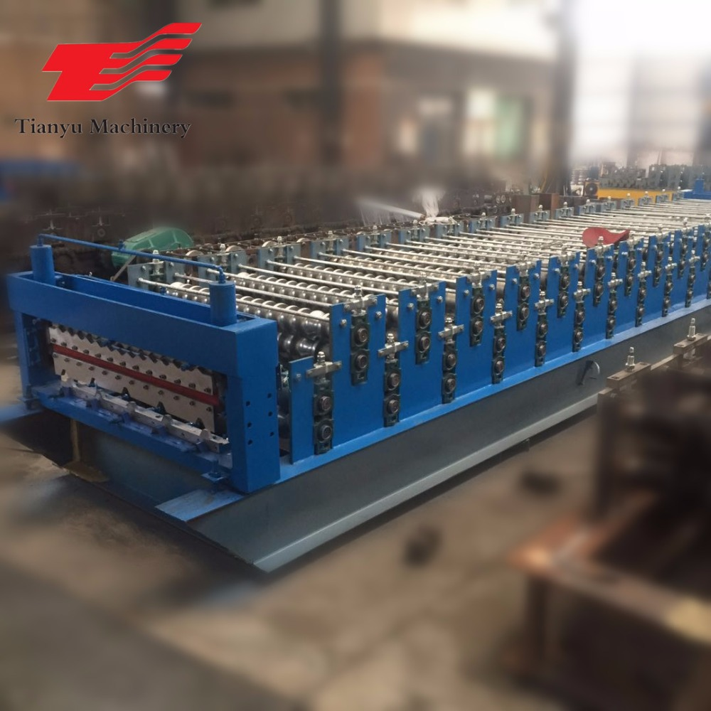 computer embroidery machinery price canton fair hot sale double layer roof tile roll forming machine