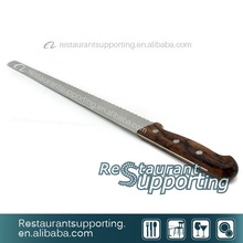 Stainless Steel Bread Knife/Kitchen Cutter Knife with Wooden Handle