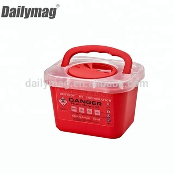 Plastic Medical Waste sharps Containers small