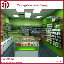 Fashion mobile phone accessorie display store design