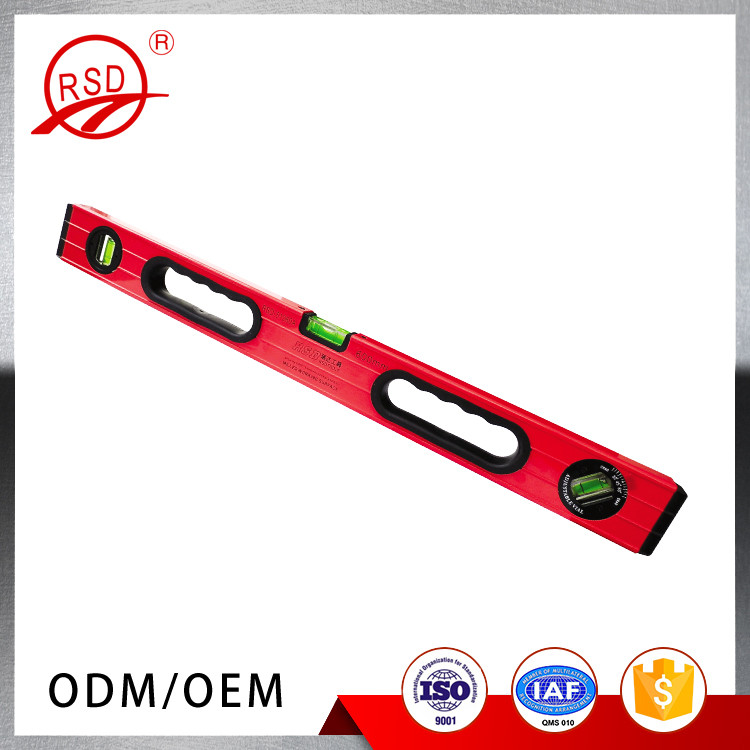 wholesale high quality aluminum alloy engineering precision spirit level