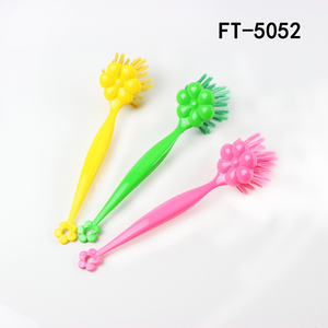 Long handle kitchen plastic dish brush