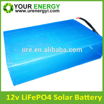 solar energy storage batteries Lifepo4 18650/26650 lithium-ion battery 12v 100ah