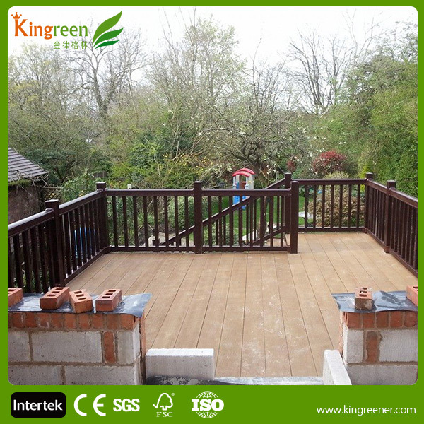 On sale high quality composite decking outdoor patio for Composite decking sale