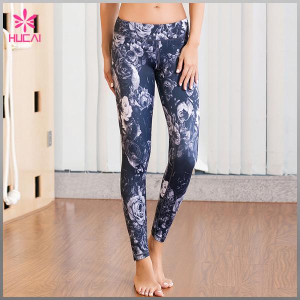New Design Gym Clothing Sheer Mesh Trim Yoga Leggings Wholesale Women Sportswear - Buy Wholesale ...
