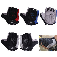 YOUME Professional Sports Outdoor Cycling Bicycle Motorcycle Sport Gel Half Finger Gloves Size S- XL 3 Colors With OEM Service
