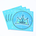 21x21cm Printed Tissue Handkerchief printed pocket napkin mini pocket tissue