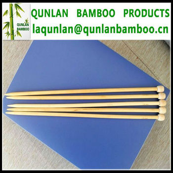 Natural Color Bamboo Needles
