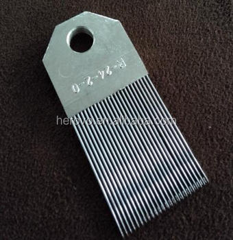 Part of Warp Knitting Spare Parts----Reed --R-24-2-0