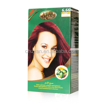 Private lable Long lasting natural plant esence japanese hair dye