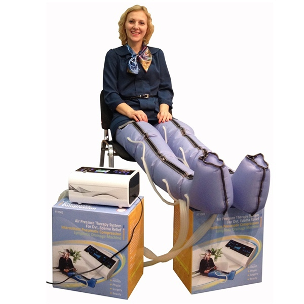 Air compression massage therapy/compressible limb therapy system/electric massage therapy